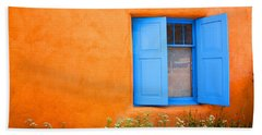Taos Window IIi Beach Towel by Lanita Williams