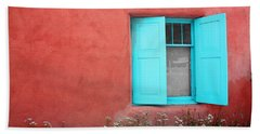 Beach Sheet featuring the photograph Taos Window Iv by Lanita Williams
