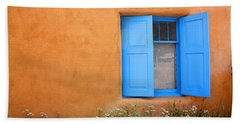 Beach Sheet featuring the photograph Taos Window V by Lanita Williams