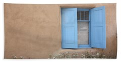Beach Sheet featuring the photograph Taos Window Vi by Lanita Williams