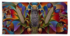Tapestry Of Gods Beach Towel
