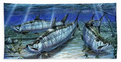 Tarpon In Paradise - Sabalo Beach Towel