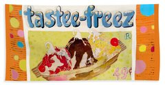 Tastee Freez Beach Towel