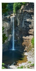 Taughannock Falls Beach Towel by Christina Rollo