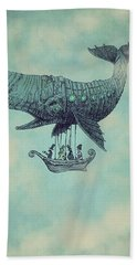 Tea At Two Thousand Feet Beach Towel by Eric Fan