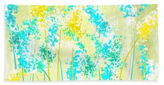 Teal And Graces Beach Towel