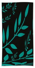 Teal Treasure Beach Towel