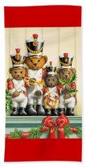Teddy Bear Band Beach Sheet
