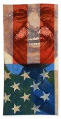 Teddy Roosevelt Beach Towel