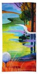 Tee Off Mindset- Golf Series Beach Towel