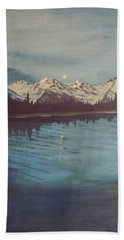 Telequana Lk Ak Beach Sheet by Terry Frederick