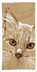 Tenderness Beach Towel