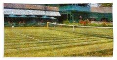 Tennis Hall Of Fame - Newport Rhode Island Beach Towel