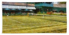 Tennis Hall Of Fame - Newport Rhode Island Beach Sheet