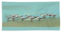 Tern Tern Tern Beach Towel