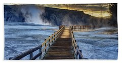 Terrace Boardwalk Beach Towel