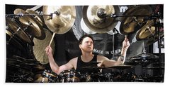 Terry Bozzio Beach Towel
