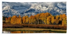 Teton Autumn Beach Sheet