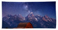 Teton Nights Beach Towel