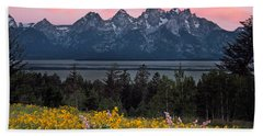 Teton Spring Beach Towel
