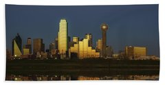 Texas Gold Beach Towel by Rick Berk