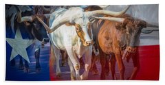 Texas Longhorns Beach Towel