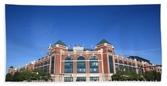 Texas Rangers Ballpark In Arlington Beach Towel