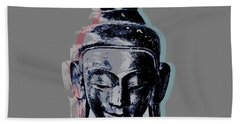 Thai Buddha #2 Beach Towel