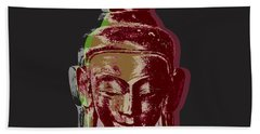 Thai Buddha #3 Beach Towel