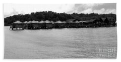 Beach Sheet featuring the photograph Thai Village by Andrea Anderegg