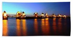 Beach Sheet featuring the photograph London Thames River by Mariusz Czajkowski