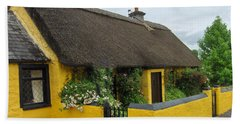 Thatched House Ireland Beach Towel