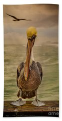 That's Mr. Pelican To You Beach Towel