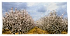 The Almond Orchard Beach Towel