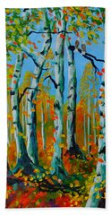The Aspens Beach Towel