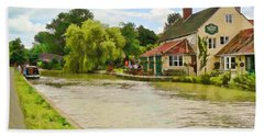 The Barge Inn Seend Beach Towel