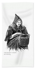 The Basket Maker Beach Towel