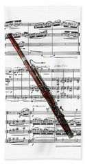 The Bassoon Beach Towel