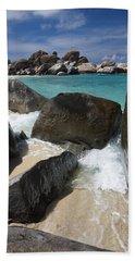 The Baths - Devil's Bay Beach Towel