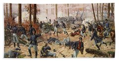 The Battle Of Shiloh April 6th-7th 1862 Beach Towel