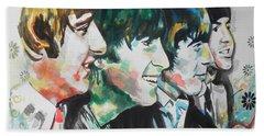 The Beatles 01 Beach Sheet