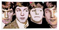 The Beatles Love Beach Towel