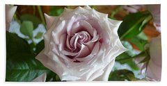 Beach Towel featuring the photograph The Beauty Of A Flower by Jim Fitzpatrick