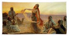 The Bedouin Dancer Beach Towel