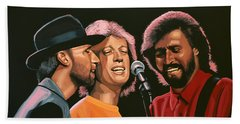 The Bee Gees Beach Towel by Paul Meijering