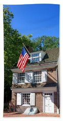 The Betsy Ross House Beach Towel