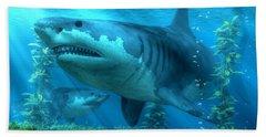 The Biggest Shark Beach Towel