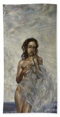 The Birth Of Aphrodite  Beach Towel