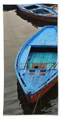The Blue Boat Beach Towel