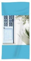 The Blue Door Beach Sheet by Holly Kempe